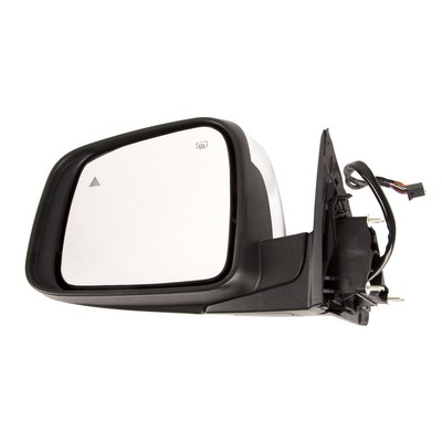 Omix-Ada Heated Power Door Mirror (Chrome) - 12039.39