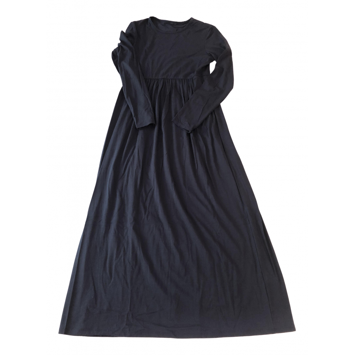 Max Mara \N Blue Cotton - elasthane dress for Women L International