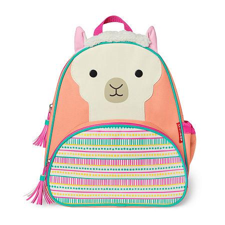 Skip Hop Llama Zoo Activity Girls Animal Backpack, One Size , Multiple Colors