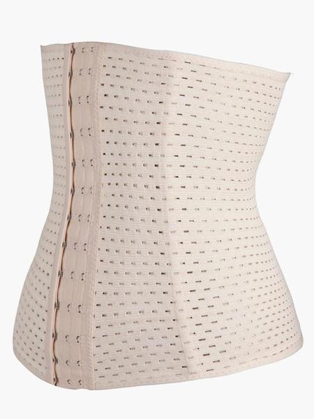 Milanoo Simply Contour Shapewear Breathable Spandex Women's Waist Shaper