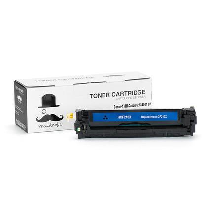 Canon 131H 6273B001AA cartouche de toner compatible noire haute capacité - Moustache®