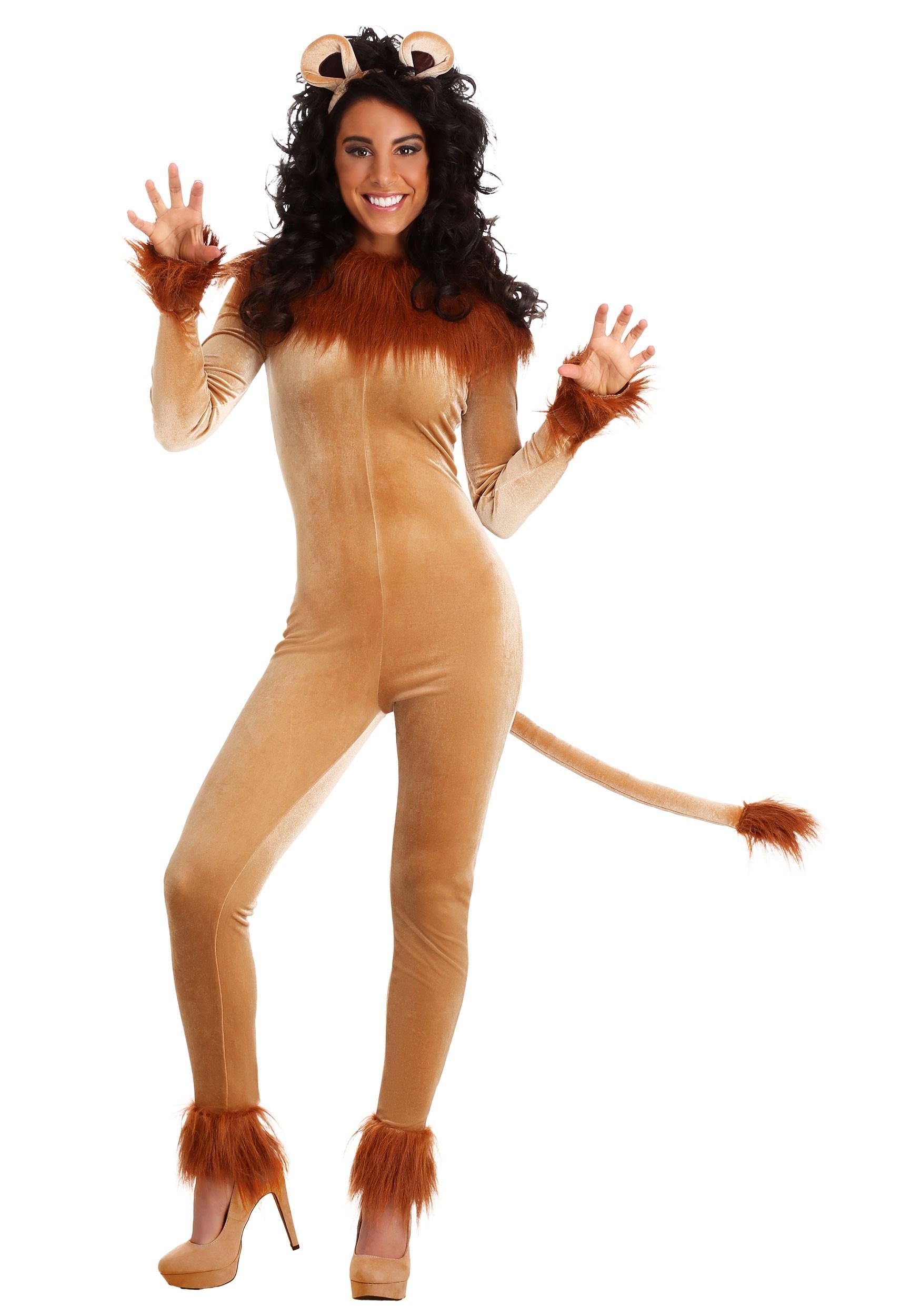 Fierce Lion Costume for Women