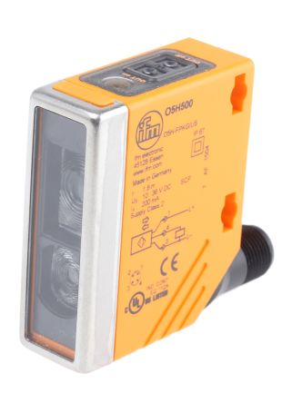 ifm electronic Photoelectric Sensor Diffuse 50 → 1800 mm Detection Range PNP