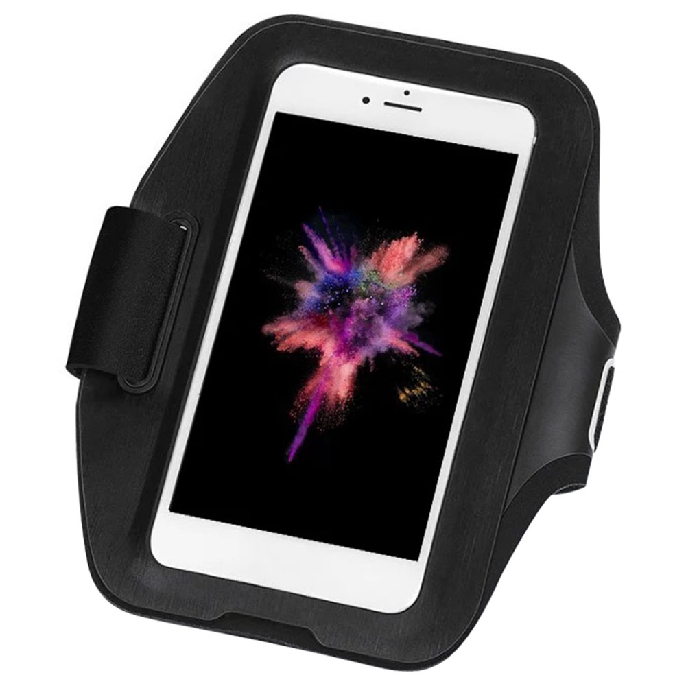 Xiaomi YUNMAI Sports Arm Bag Phone Pouch 6 Inch Reflective Strap - Black