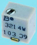 Bourns 500kΩ, SMD Trimmer Potentiometer 0.25W Top Adjust , 3214 (5)