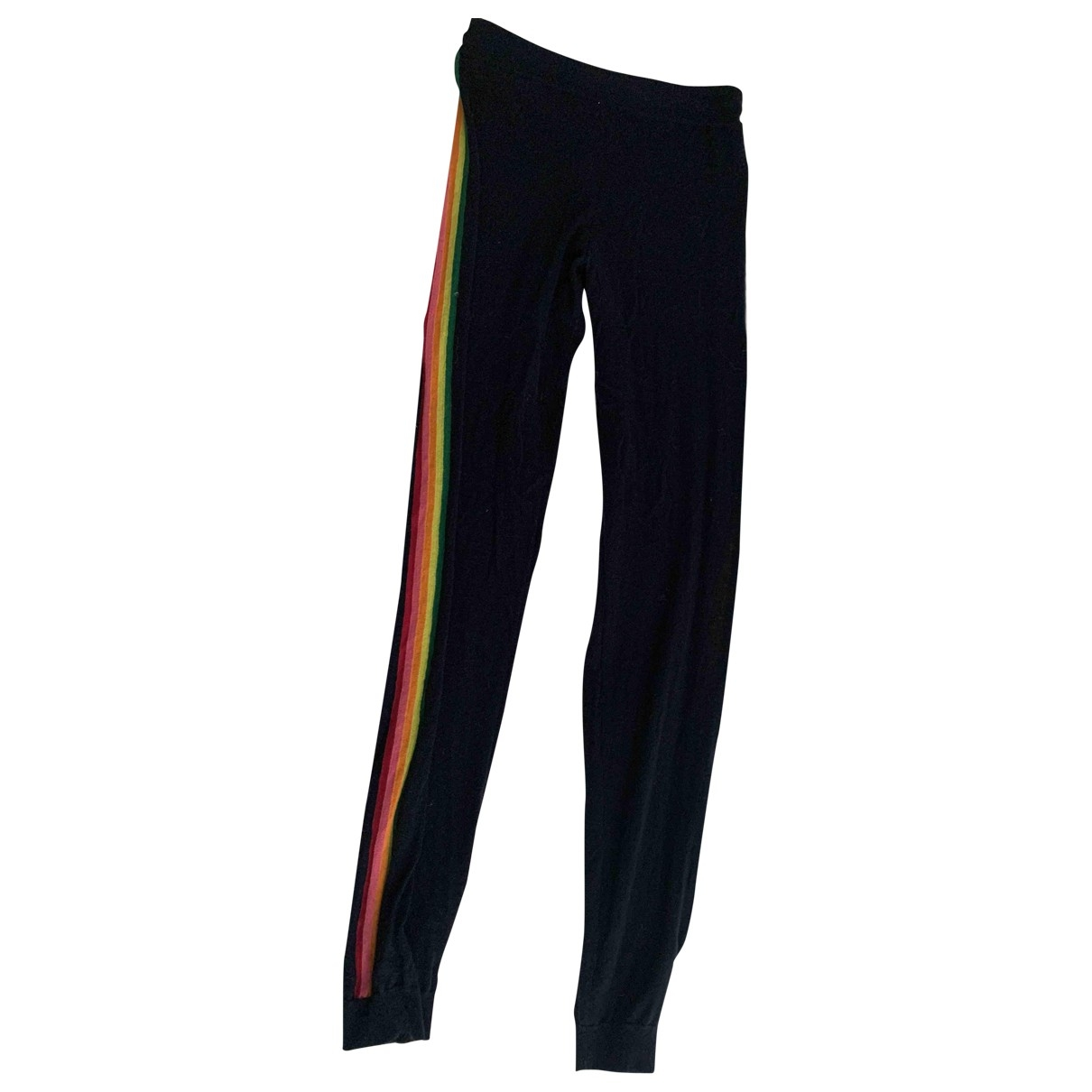 Wyse London \N Navy Wool Trousers for Women 2 0-5