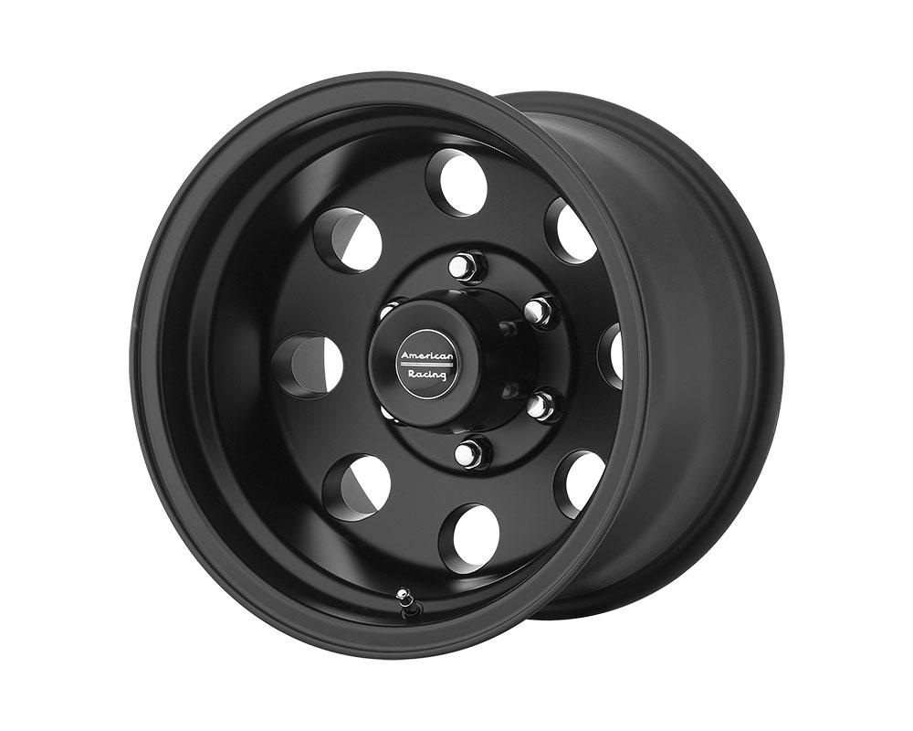 American Racing AR172 Baja Wheel 15x10 5x5x127 -43mm Satin Black