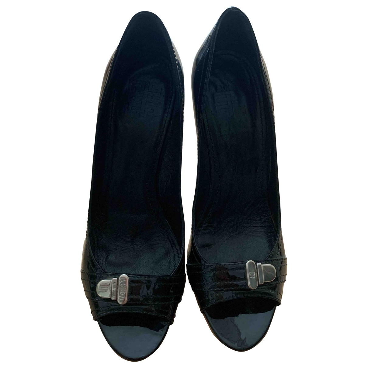 Givenchy \N Black Patent leather Heels for Women 40.5 EU
