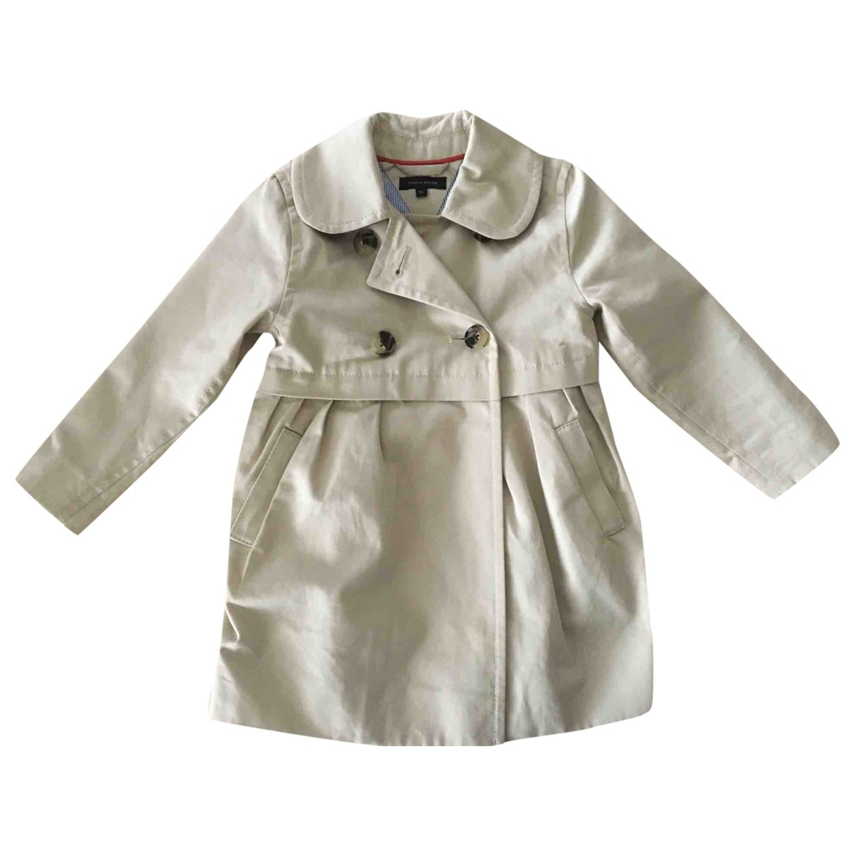 Tommy Hilfiger \N Beige Cotton jacket & coat for Kids 2 years - up to 86cm FR
