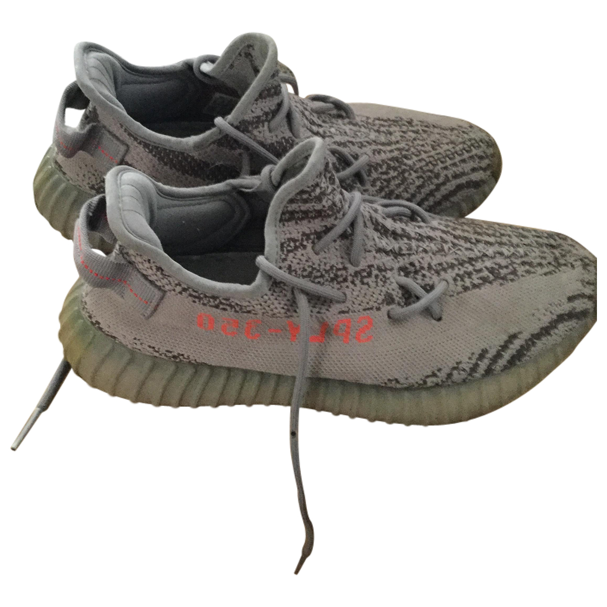 Yeezy X Adidas Boost 350 V2 Grey Cloth Trainers for Men 8 US