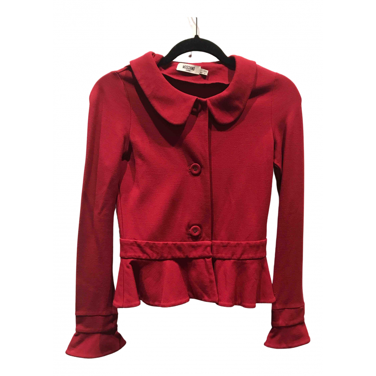 Moschino Cheap And Chic \N Red Cotton jacket for Women 4 US