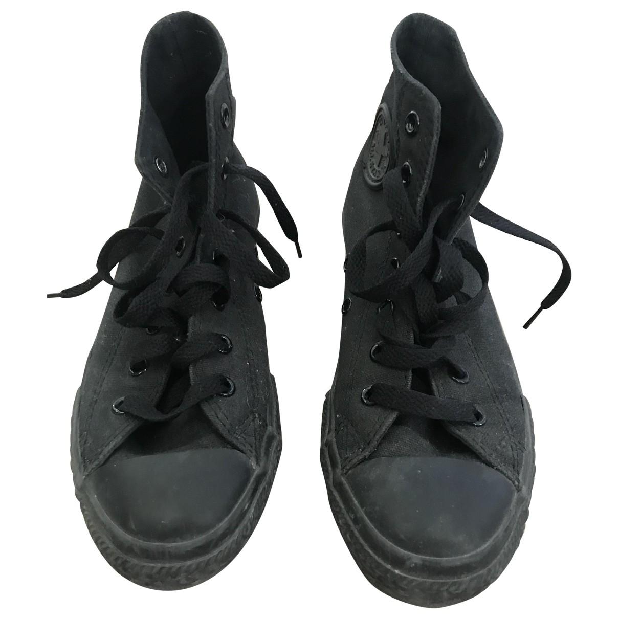 Converse \N Black Cloth Trainers for Women 34 EU