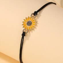 Girls Flower Decor Bracelet