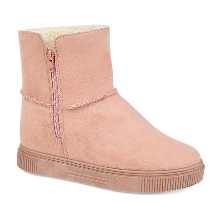 Journee Collection Womens Stelly Winter Boots, 8 Medium, Pink