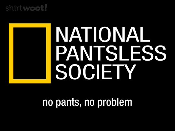 Pantsless T Shirt