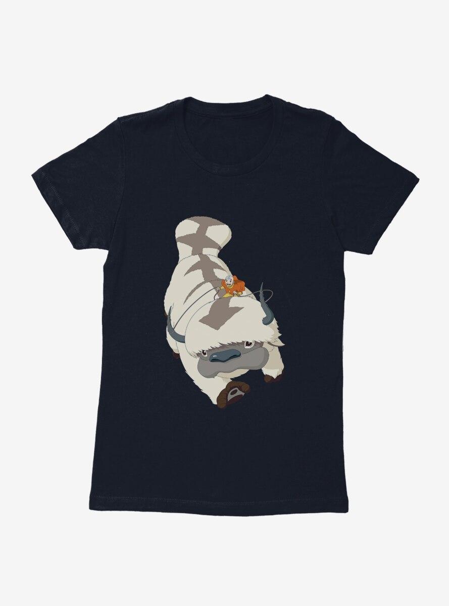 Avatar: The Last Airbender Appa Flight Womens T-Shirt