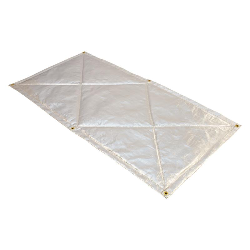 Heatshield Products Floor heat shield keep the drivers compartment cool, reducing fatigue.