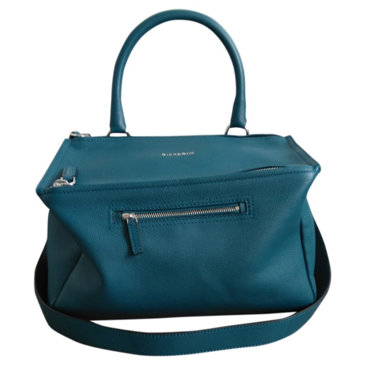 Givenchy Pandora Turquoise Leather handbag for Women \N
