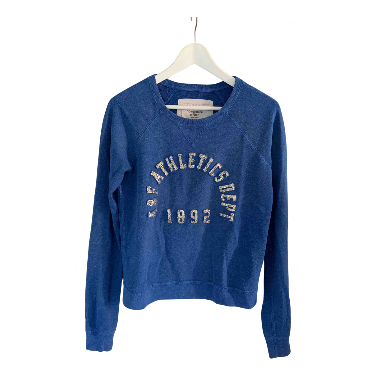 Abercrombie & Fitch \N Blue Cotton Knitwear for Women S International