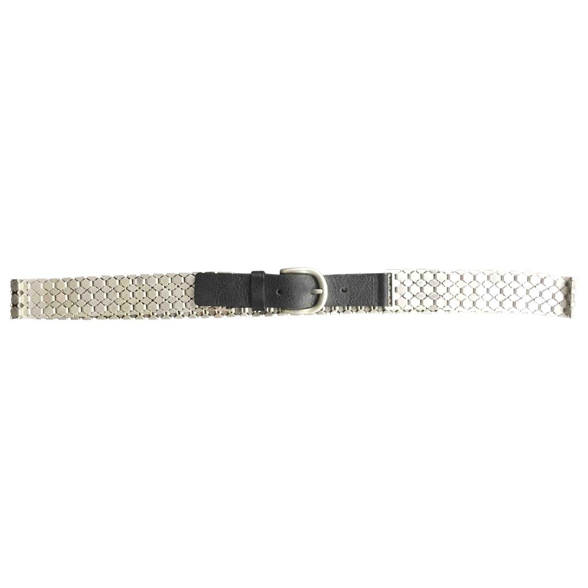 Isabel Marant Pour H&m \N Silver Leather belt for Women S International