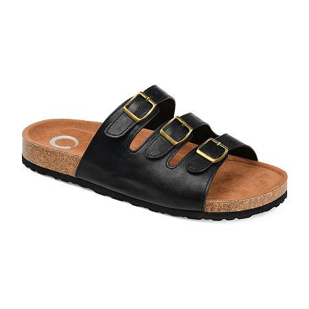 Journee Collection Womens Desta Slip-On Shoe, 6 Medium, Black