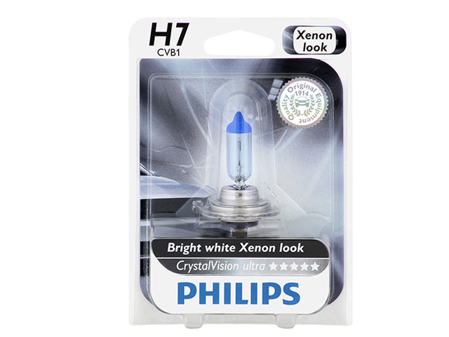 Philips LR000703 Crystal Vision Ultra Headlight Bulb Land Rover