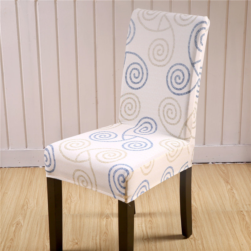 Elegant Flower Landscape Elastic Stretch Chair Seat Cover Computer Dining Room Home Wedding Decor