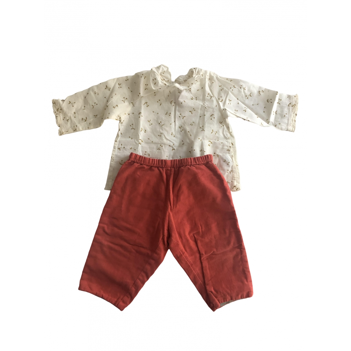 Bonpoint \N Grey Cotton Outfits for Kids 12 months - up to 74cm FR