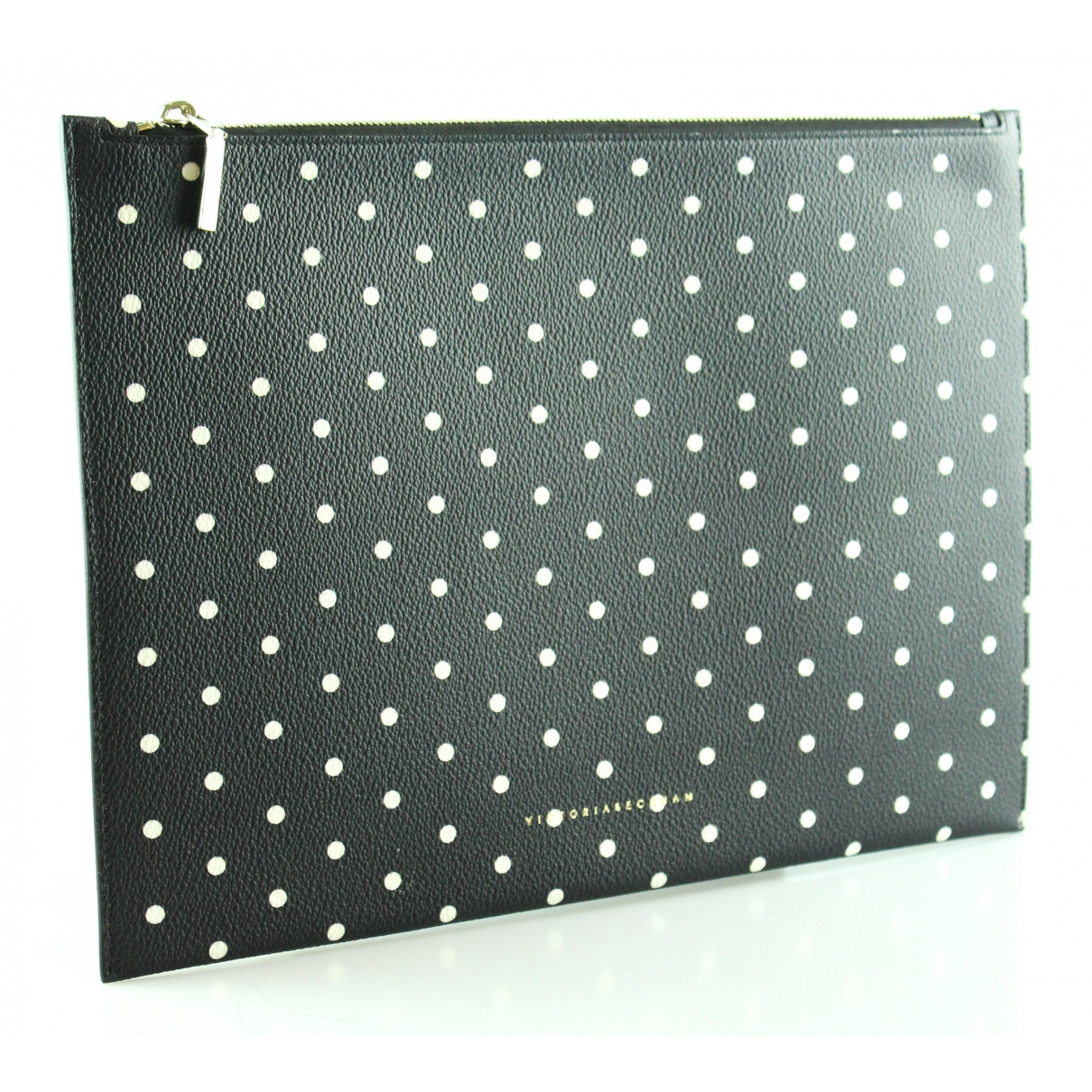 Victoria Beckham \N Black Leather Clutch bag for Women \N