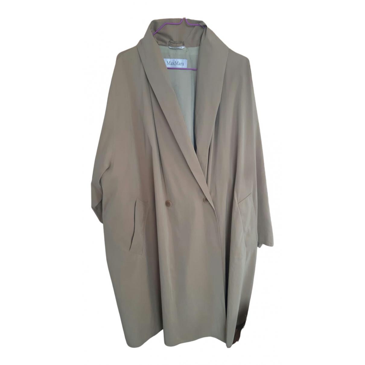 Max Mara \N Beige Trench coat for Women 42 IT