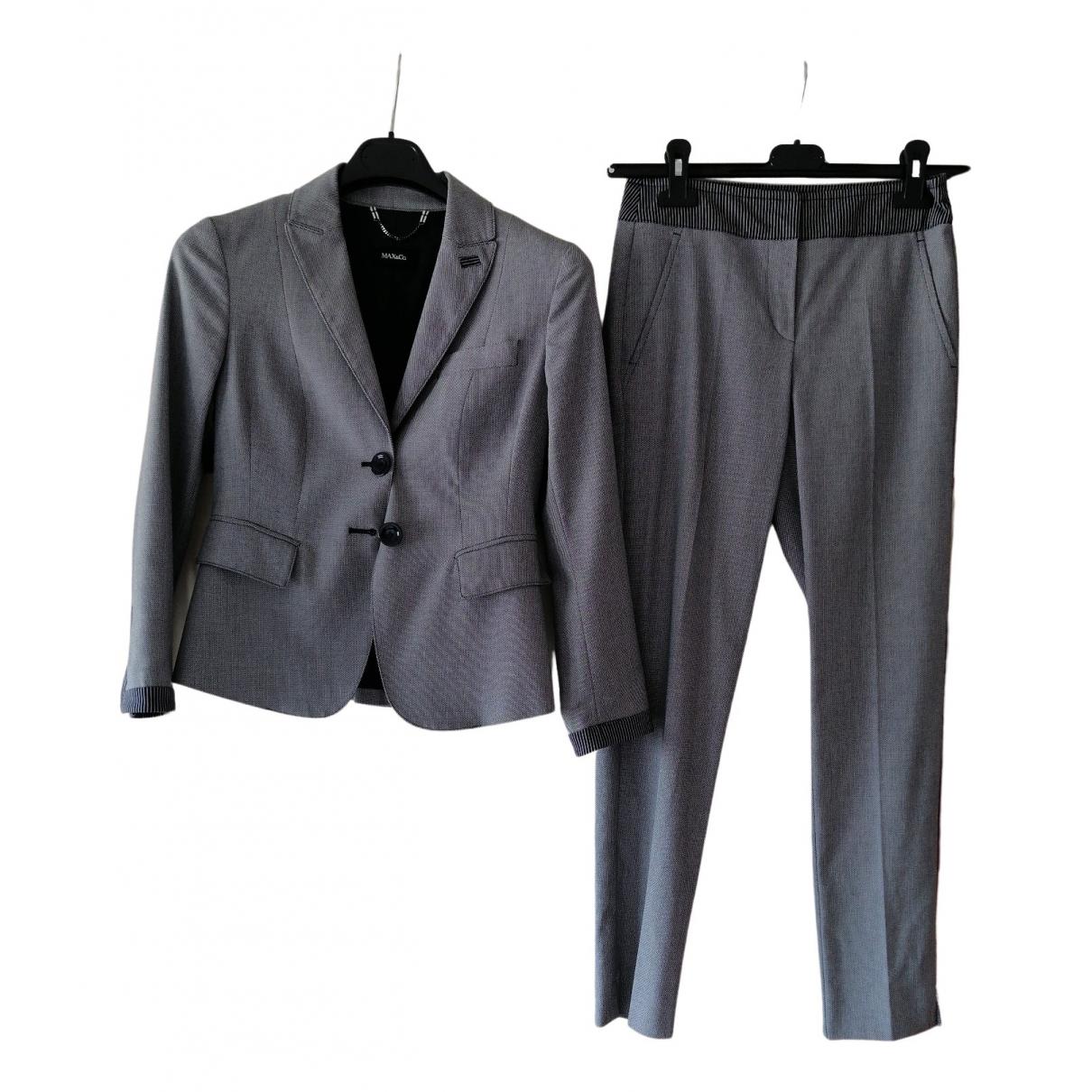 Non Signé / Unsigned \N Blue jumpsuit for Women 34 FR