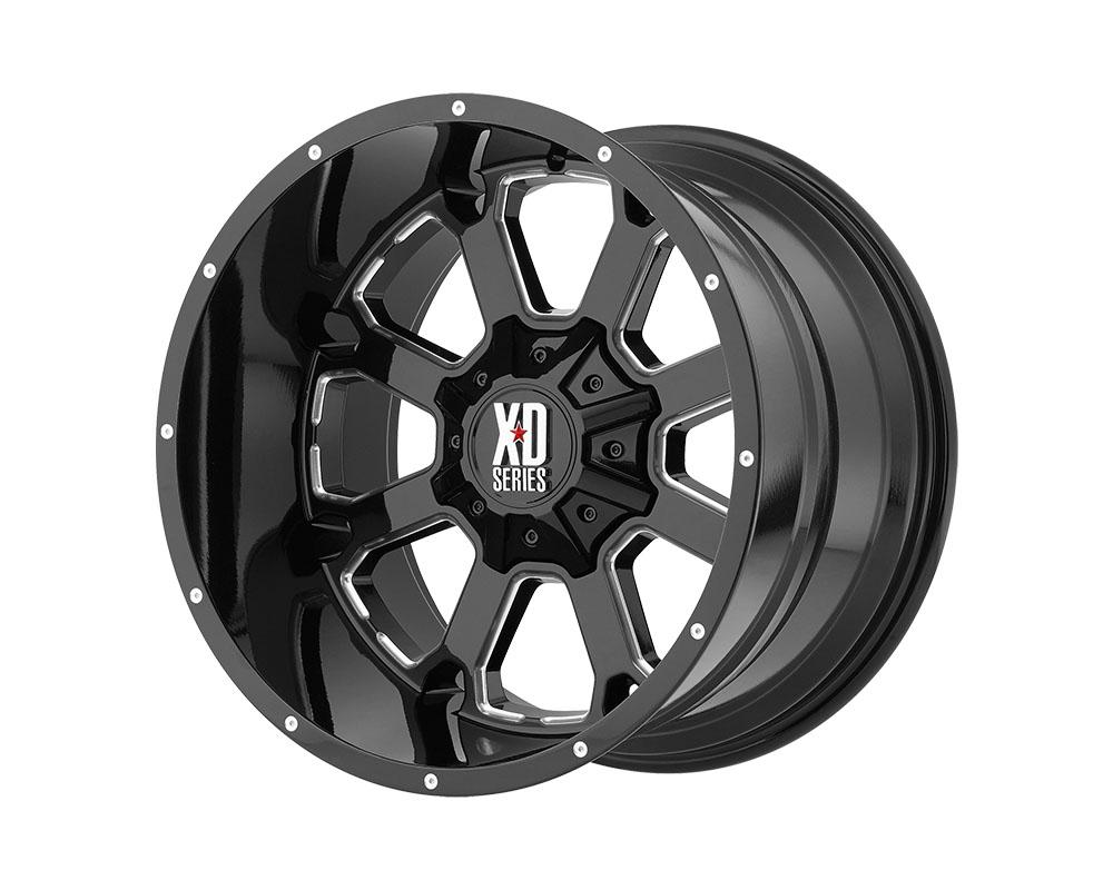 XD Series XD82529058325 XD825 Buck 25 Wheel 20x9 5x5x150 +25mm Gloss Black Milled