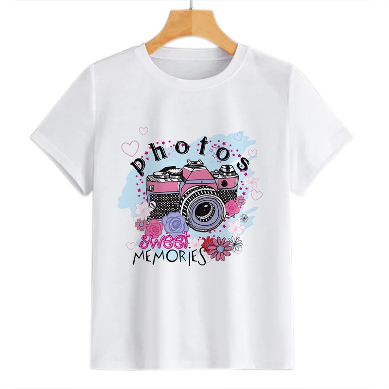 Beddinginn Round Neck Standard Hand Painted Short Sleeve Straight Women's T-Shirt