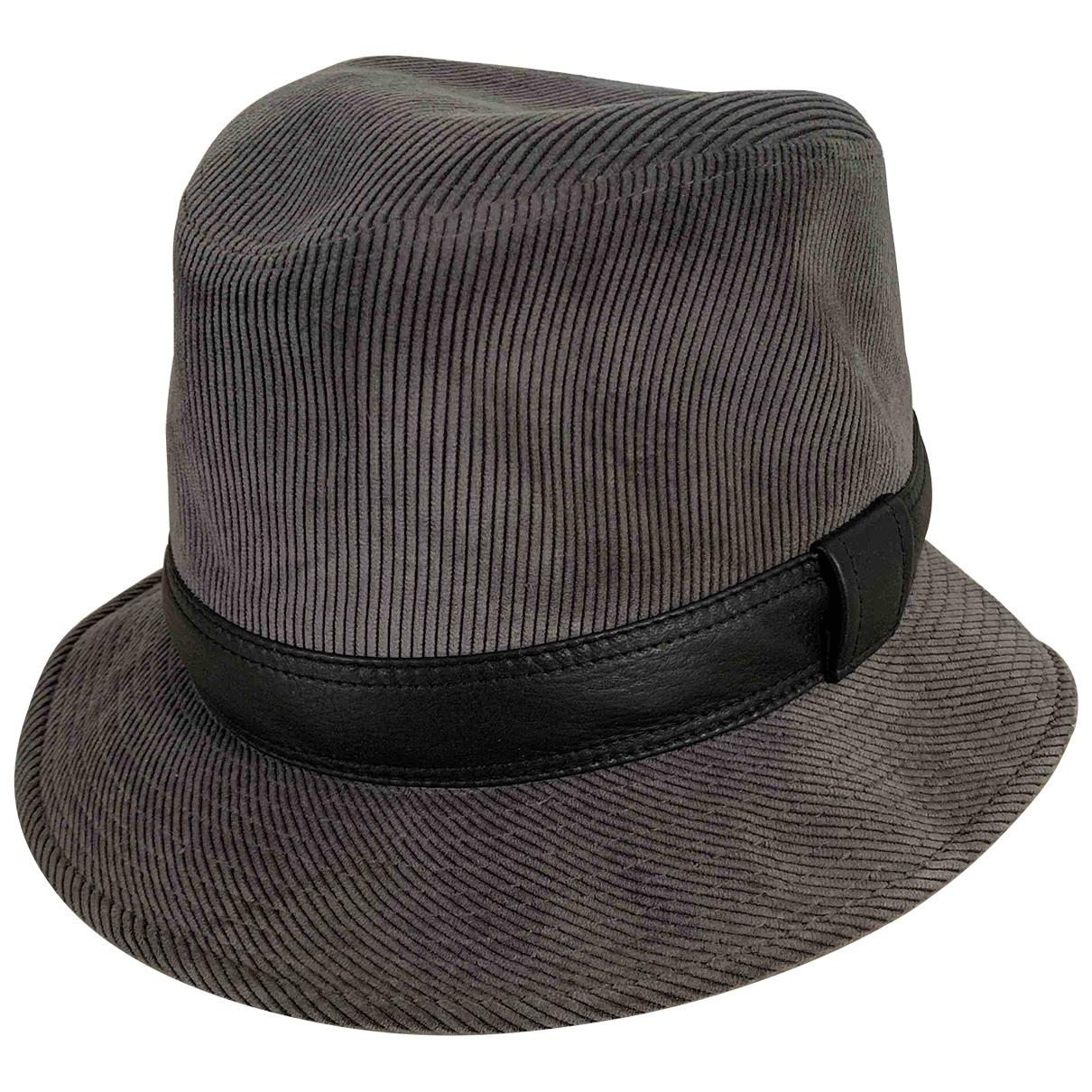 Hermès \N Anthracite hat for Women 58 cm