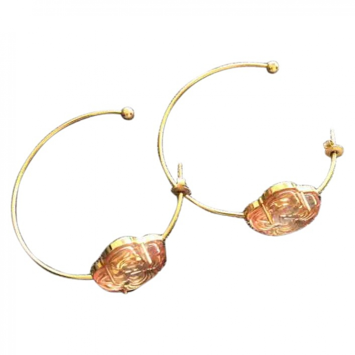 Louis Vuitton \N Gold Metal Earrings for Women \N