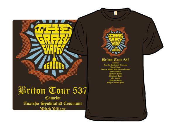The Grail Shaped Beacons T Shirt