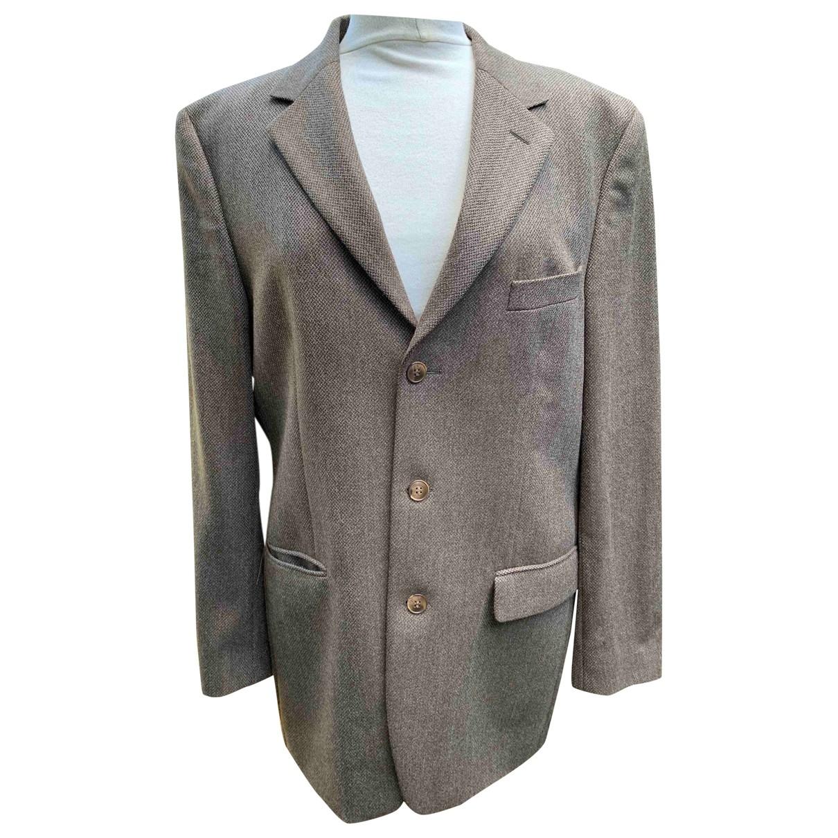Courrèges \N Brown Wool jacket  for Men 52 FR