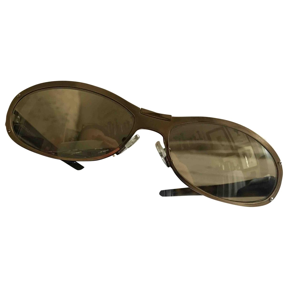 Bottega Veneta \N Metallic Metal Sunglasses for Women \N