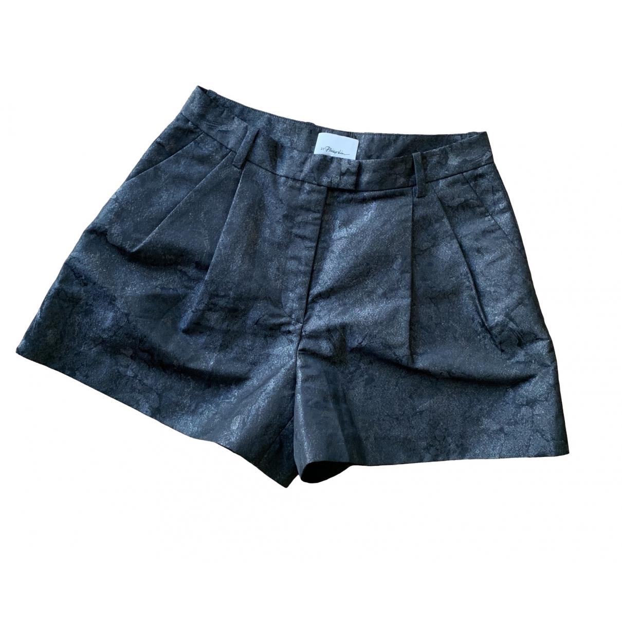 3.1 Phillip Lim \N Anthracite Shorts for Women M International
