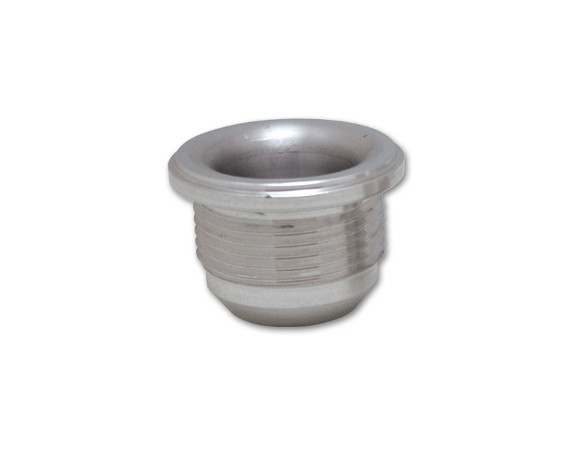 Vibrant Performance 11156 -20AN Male Aluminum Weld on Bung (1-5/8-12 SAE Thread; 1-3/4