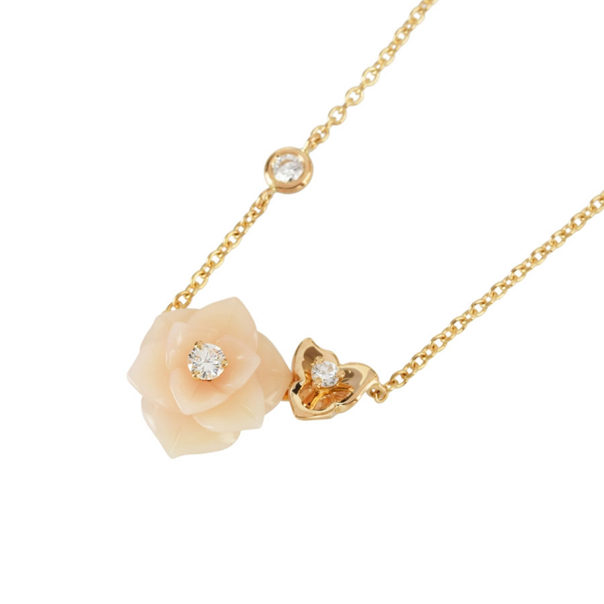 Piaget \N Pink Pink gold necklace for Women \N