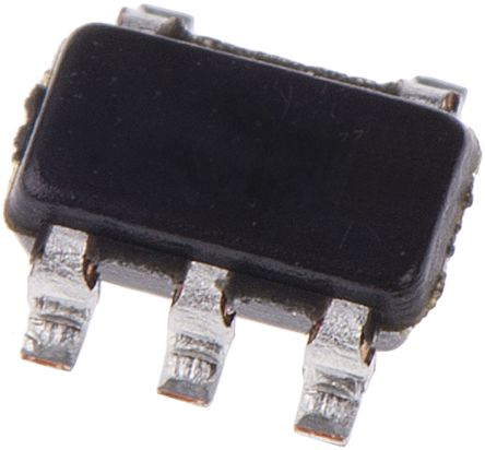 STMicroelectronics STMPS2141STR, 1-Channel Load Switch IC, High Side MOSFET Switch, 0.5A, 2.7 → 5.5V 5-Pin, (10)