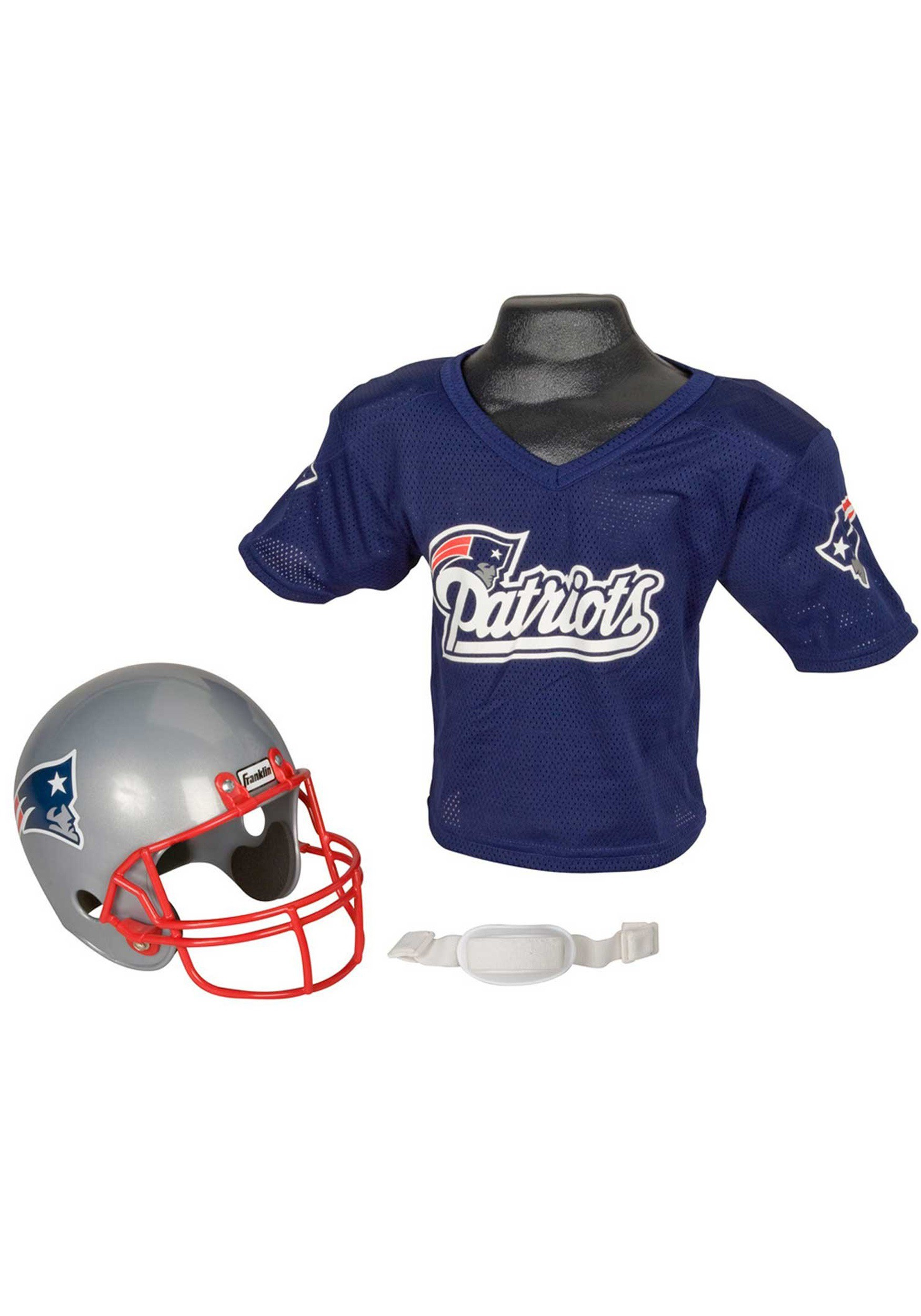 Child NFL New England Patriots Helmet and Jersey Costume Set