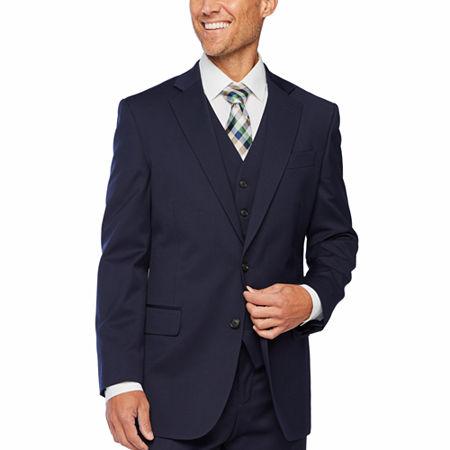 Stafford Super Suit Classic Fit Suit Jacket, 40 Regular, Blue