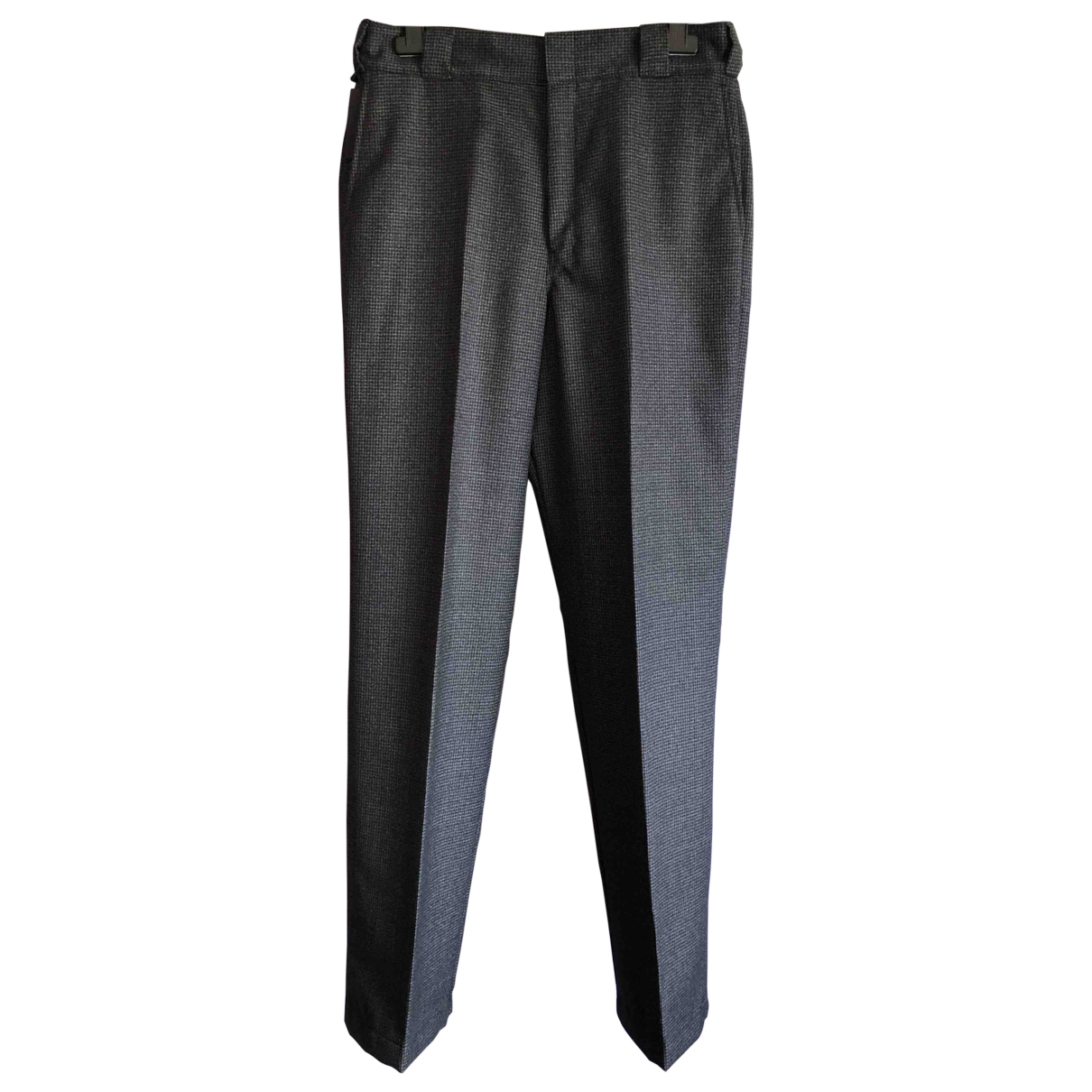Prada \N Anthracite Wool Trousers for Men 46 IT