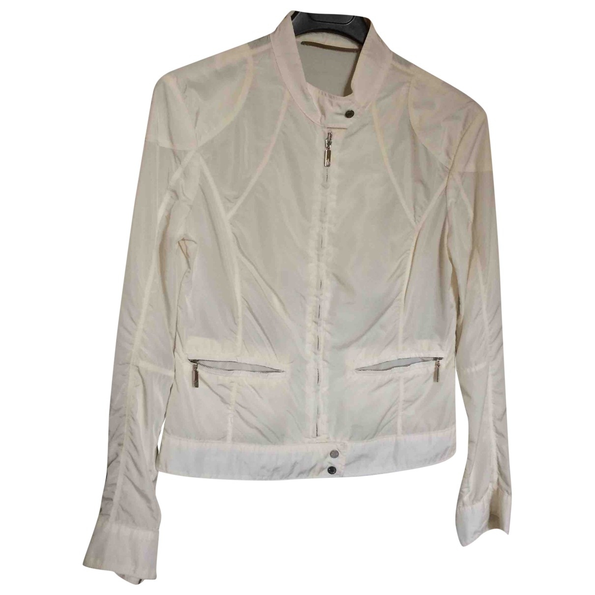Moncler Classic White jacket for Women 2 0-5