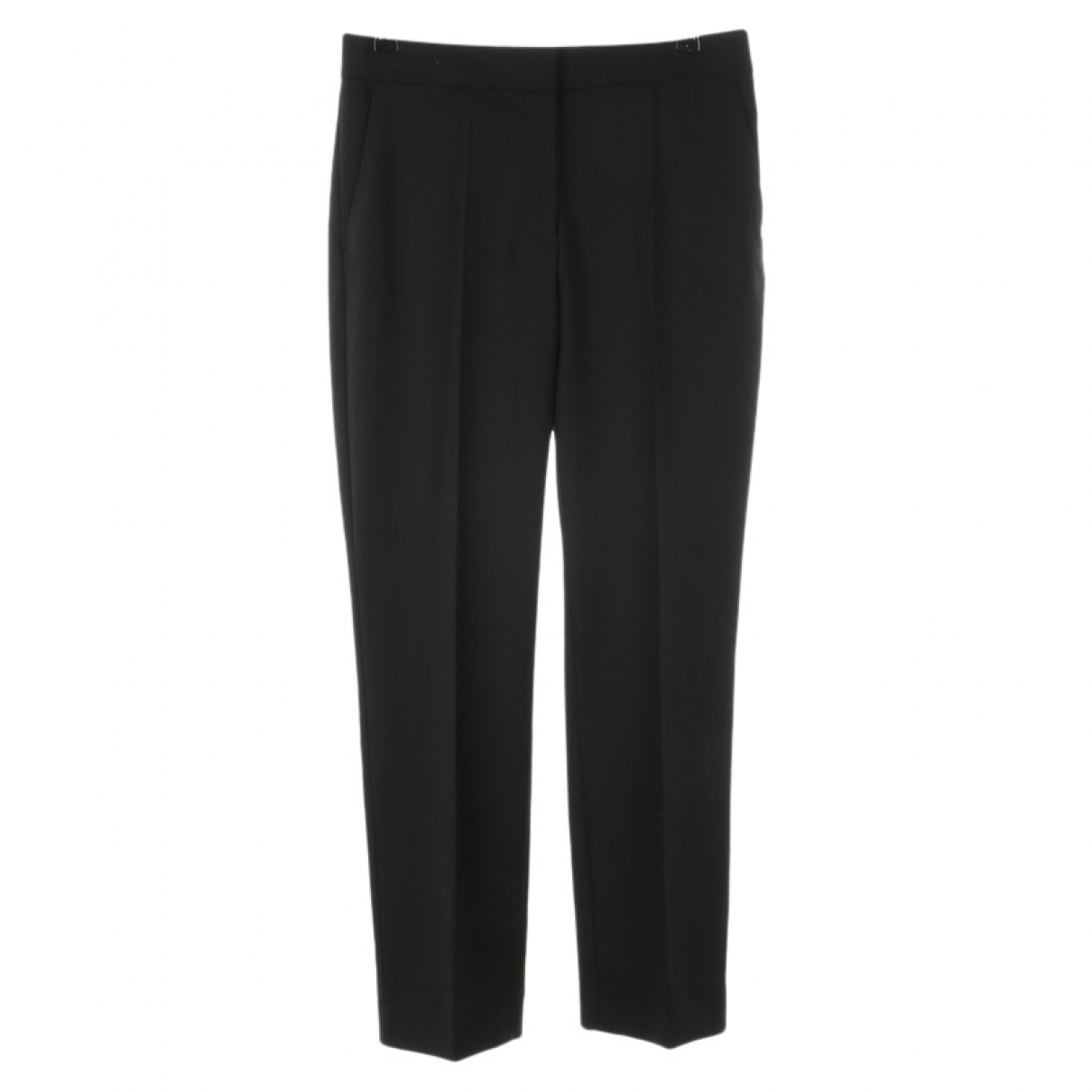 Victoria Beckham \N Black Trousers for Women 36 FR