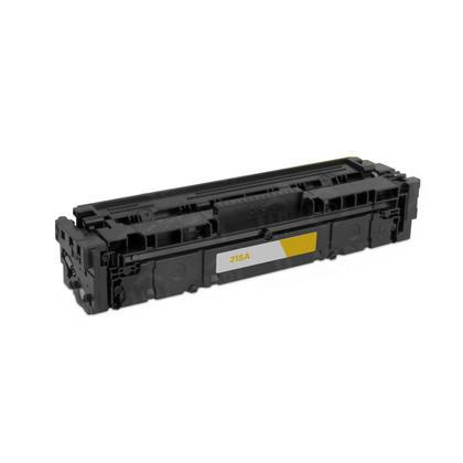 Compatible HP 215A W2312A cartouche de toner jaune - sans puce - Moustache®