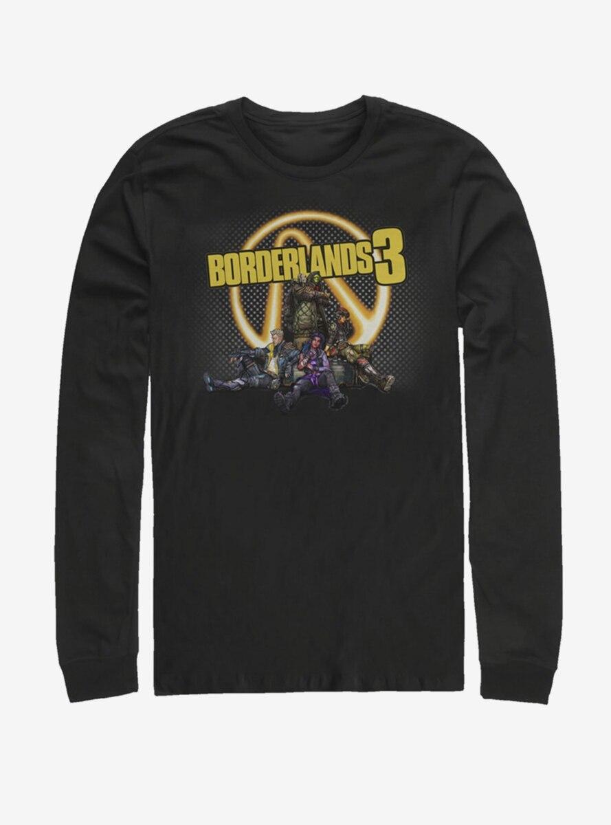 Borderlands 3 BL3 Glow Group Long-Sleeve T-shirt