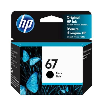 HP 67 3YM56AN Original Black Ink Cartridge
